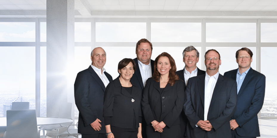 group of partners and leadership team - jefferson apartment group