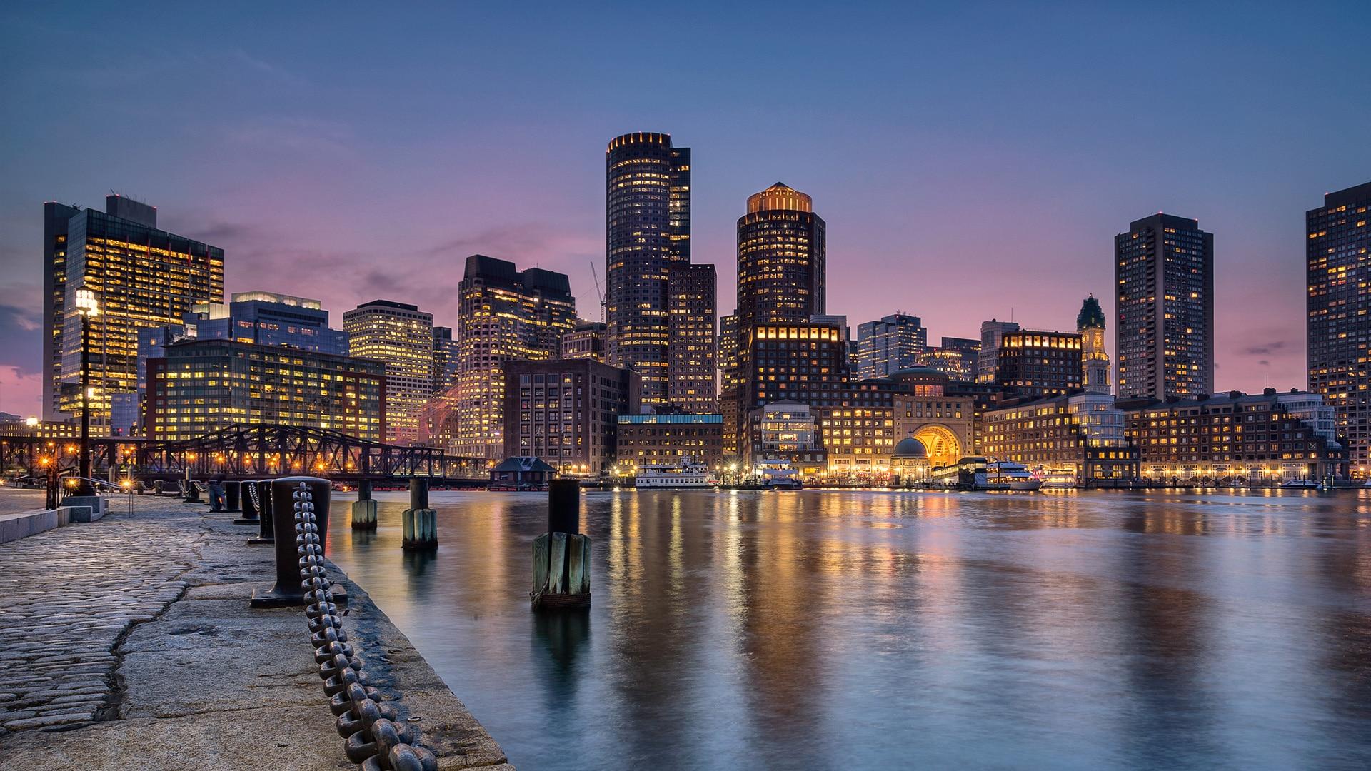 boston skyline - jefferson apartment group