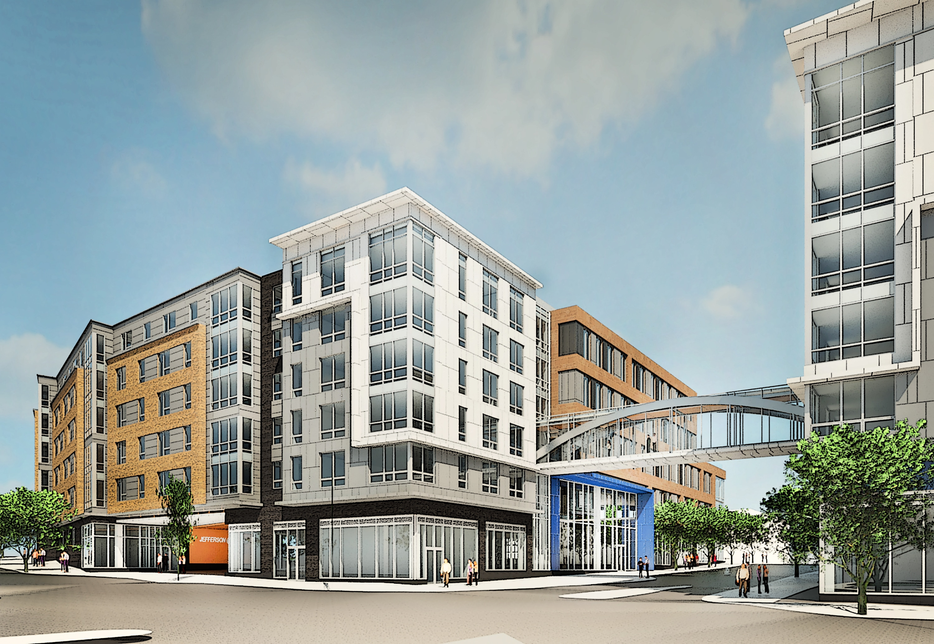 Jefferson apartment group announces transit oriented mixed for Residential lease for apartment or unit in multi family